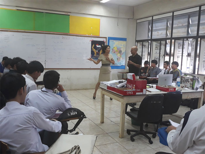 Cyberbullying Workshop in Nong Khai